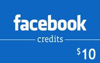 $10 Facebook Credits