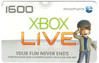 Microsoft 1600 Points