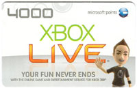 Microsoft 4000 Points